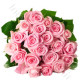 Bouquet di 20 Rose rosa