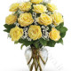 Bouquet di 12 Rose gialle Medium