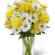 Bouquet di Rose gialle e Margherite