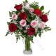 Bouquet di Rose rosse e Rose rosa