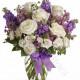 Bouquet di Rose e Roselline bianche