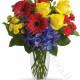 Bouquet di Rose, Gerbere e Garofani
