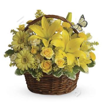 cesto-fiori-gialli