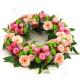 Corona funebre di Rose e Gerbere