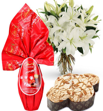 bouquet-di-gigli-bianchi-con-uovo-lindor-e-colomba