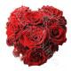 Piccolo Cuore di Rose rosse