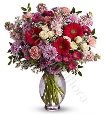 bouquet-di-fiorellini-dai-toni-del-rosso