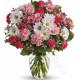 Bouquet di Fiorellini dai toni del rosa