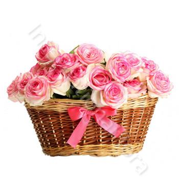 cesto-di-rose-rosa