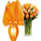Bouquet di Tulipani arancio e Uovo