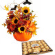 Bouquet di Halloween con Ferrero Rocher