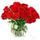 Bouquet di 18 Roselline rosse