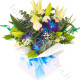 Bouquet di Gigli, Rose e Orchidee