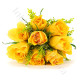 Bouquet di 8 Rose gialle