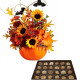 Bouquet di Halloween con Scatola di Cioccolatini